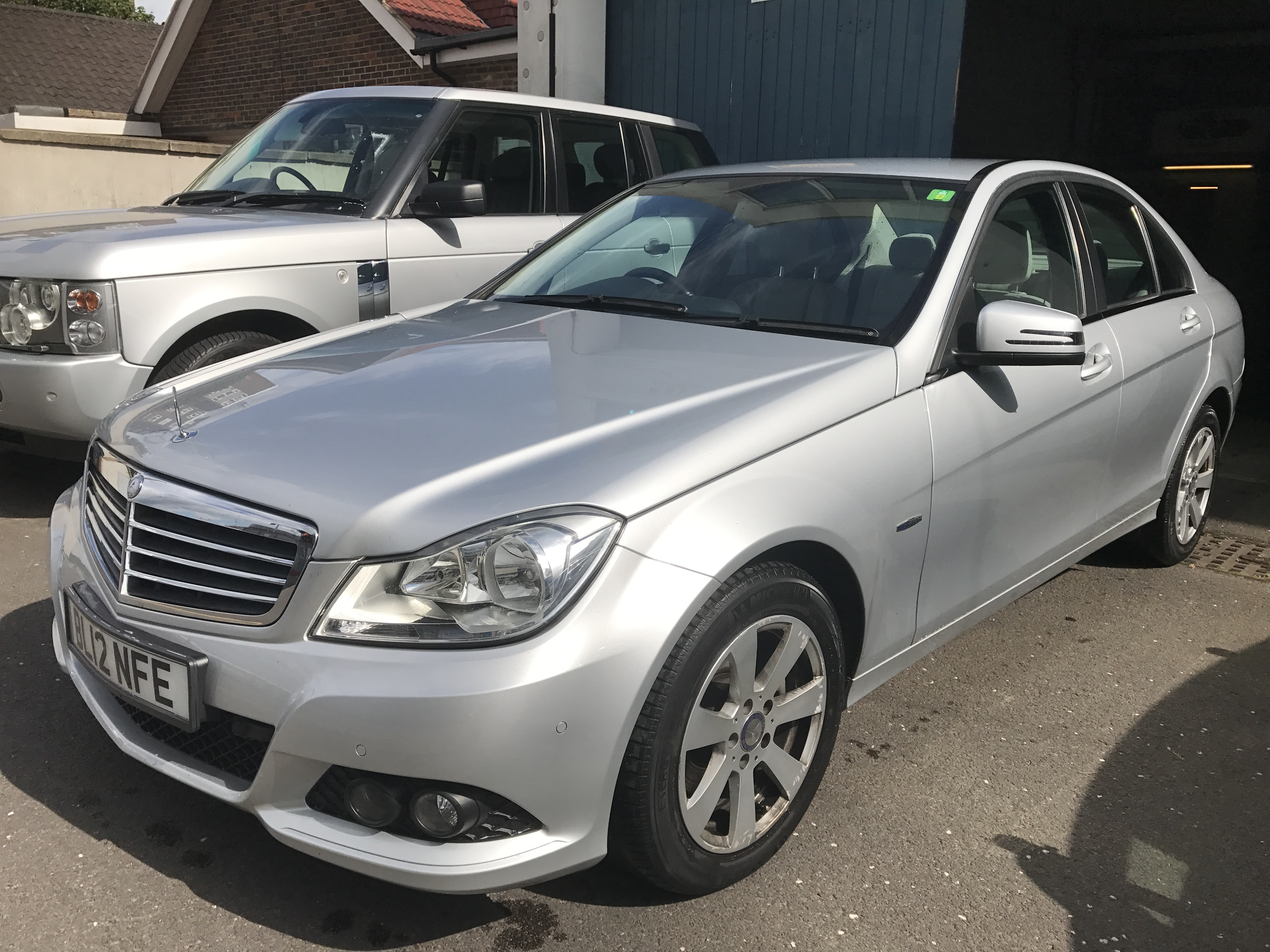 Mercedes-Benz C Class 2.1 C220 CDI BlueEFFICIENCY SE 7G-Tronic 4dr FULL SERVICE HISTORY,£10990